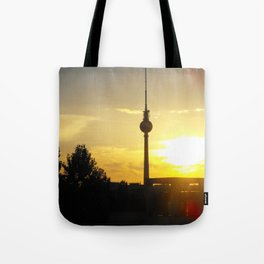 Berlin Sunset Tote Bag