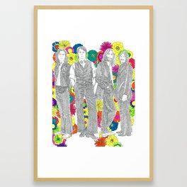 Imagine in Songs Framed Art Print