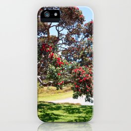 Pōhutukawa iPhone Case