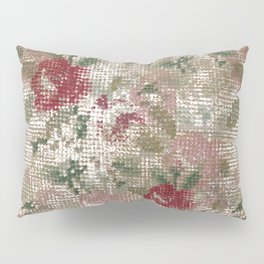 Embroidery Sampler Pillow Sham
