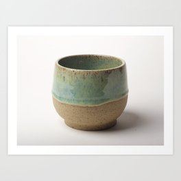 Tea Bowl Art Print