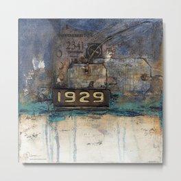 10x10 Series: 1929 Metal Print