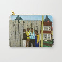 1944 American American Masterpiece 'Harmonizing' by Horace Pippin Carry-All Pouch