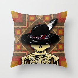 """An Indian isn't afraid to die"" 