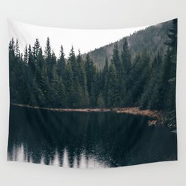 Forest Lake Wall Tapestry