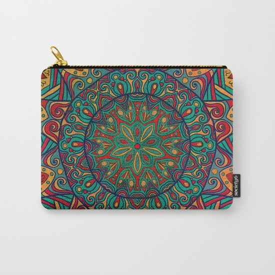 Tribal Mandala Carry-All Pouch