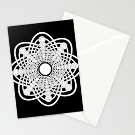 Spheres of Congruence (Midnight Version) Stationery Cards