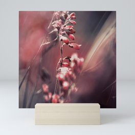 RED SPANGLES no5 Mini Art Print