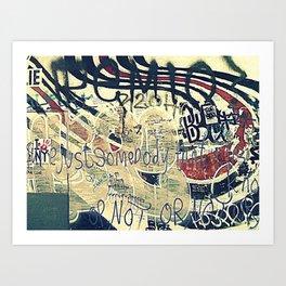 Elliott Smith Memorial Wall Art Print
