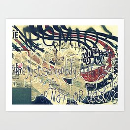 Elliott Smith Memorial Wall Art Print
