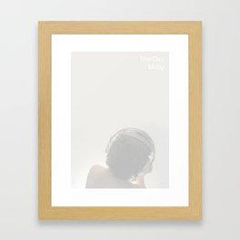 The Day Framed Art Print