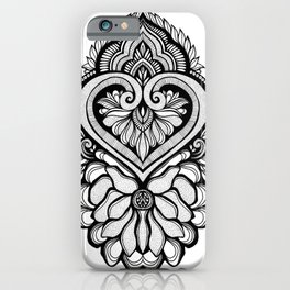Sacred Flora iPhone Case