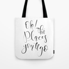 Oh! The Places You'll Go! (Dr. Seuss) Tote Bag