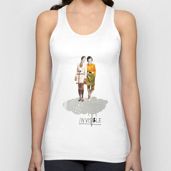 Invisible | Collage Unisex Tank Top