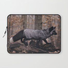 Silver Fox Laptop Sleeve