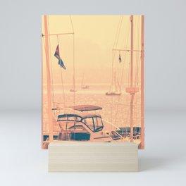 SAIL BOATS IN THE SAN FRANCISCO BAY - CALIFORNIA - 3 Mini Art Print