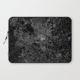 raleigh map north carolina Laptop Sleeve
