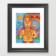 Hanuman Framed Art Print