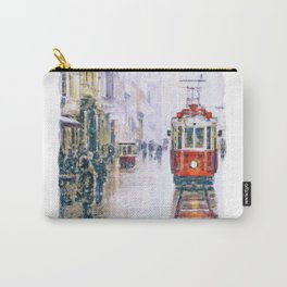 Istanbul Nostalgic Tramway Carry-All Pouch