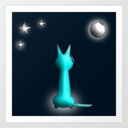 In the Moonlight Art Print