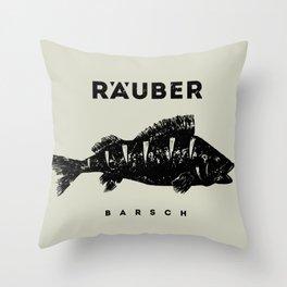 Barsch / Perch Throw Pillow