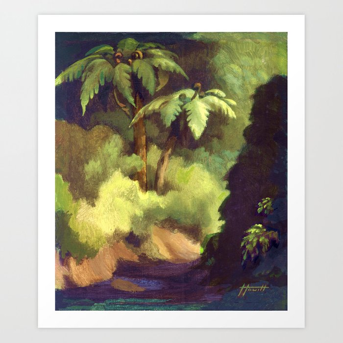 Fern Gully Art Print