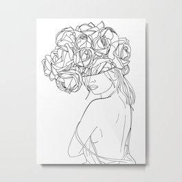 undress my mind Metal Print