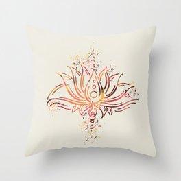 The magic of Loto Throw Pillow