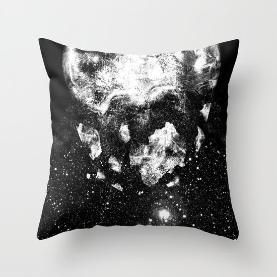 The Moon Is Down Throw Pillow