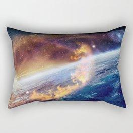 Cosmic fire Rectangular Pillow