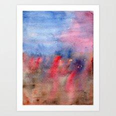 vague memory Art Print
