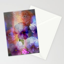 Paint me a garden Stationery Cards