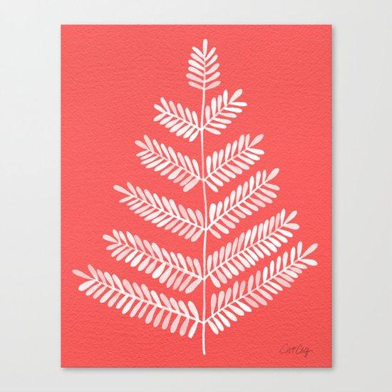 Melon Leaflets Canvas Print