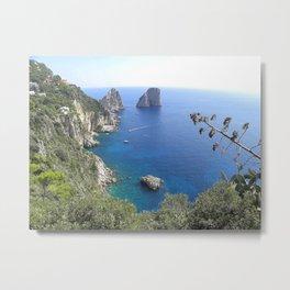 Capri, Italy - Faraglioni Rocks Metal Print