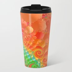 Fractal 107 Metal Travel Mug