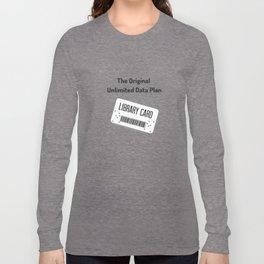 Original Data Plan Long Sleeve T-shirt