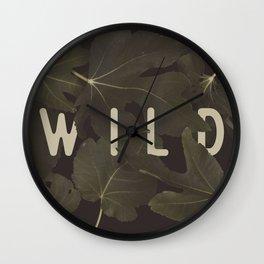 Wild I Wall Clock