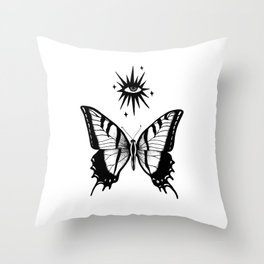 Mystic Beings Throw Pillow