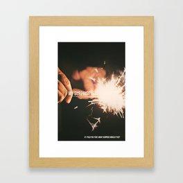WOW! Enigma #1 Framed Art Print