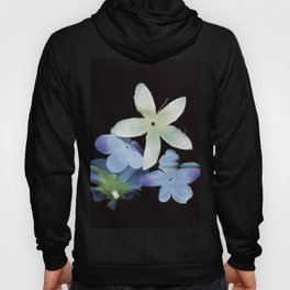 Artificial Flowers Glitched Scan Hoody
