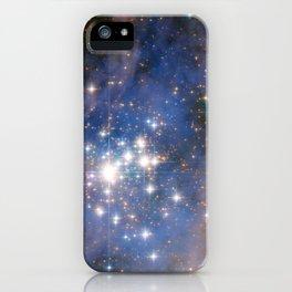 Star cluster Trumpler 14 in the Milky Way (NASA/ESA Hubble Space Telescope) iPhone Case