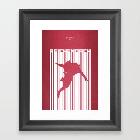 SHERLOCK: REICHENBACH Framed Art Print