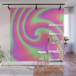 Tutti Frutti Ribbon Candy Fractal Wall Mural