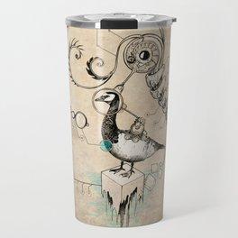 TimeLoopParadox // (metaphysical goose) Travel Mug
