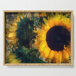 Glorious Sunflowers 1 Serving Tray