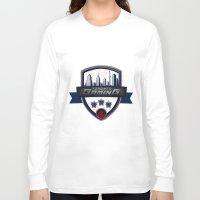 gaming Long Sleeve T-shirts featuring Toronto Gaming by rramrattan