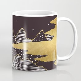 Gold Mountain Peaks Coffee Mug