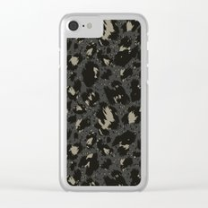 army pattern Clear iPhone Case