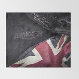 Triumph Motorcycles Throw Blanket