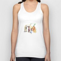 oz Tank Tops featuring OZ by Little Moon Dance